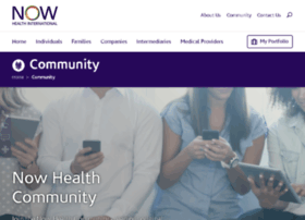 community.now-health.com