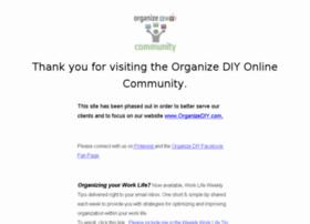 community.organizediy.com