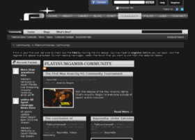 community.platinumgames.com