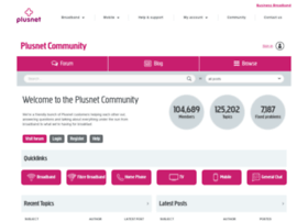 community.plus.net