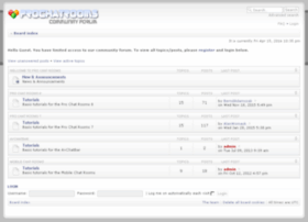 community.prochatrooms.com