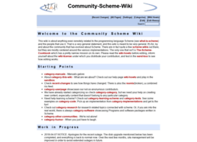 community.schemewiki.org