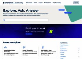 community.smartsheet.com