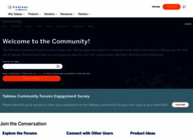 community.tableau.com
