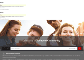 community.vodacom.co.za