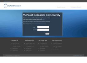 community.vupointresearch.com