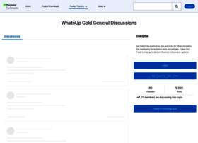 community.whatsupgold.com