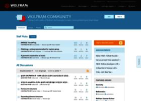 community.wolfram.com