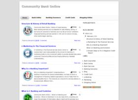 communitybankonline.blogspot.com