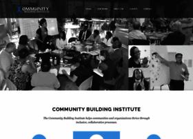 communitybuildinginstitute.org