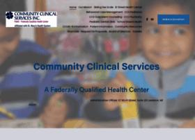 communityclinicalservices.com