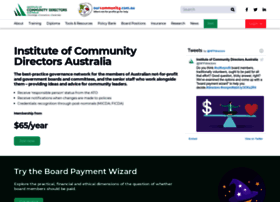 communitydirectors.com.au