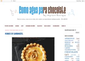 comoaguaparachocolate-myriam.blogspot.com