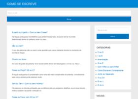 comoescreve.com.br