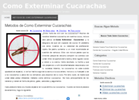 comoexterminarcucarachas.com