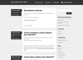 comohacerdineronline.wordpress.com