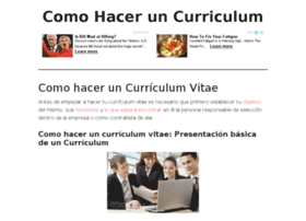 comohaceruncurriculum.info