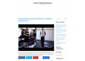 comoperderbarrigas.com
