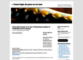 comopuedebajardepeso8.wordpress.com