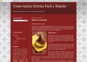 comoquitarestrias.blogspot.com