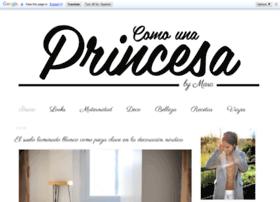comounaprincesa.com