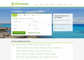 compagnies-aeriennes.govoyages.com