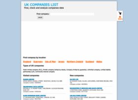 companieslist.co.uk