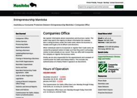 companiesoffice.gov.mb.ca