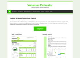 company-valuation.valuatum.com
