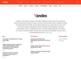 company.yandex.com
