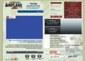 companyairplanejobs.com