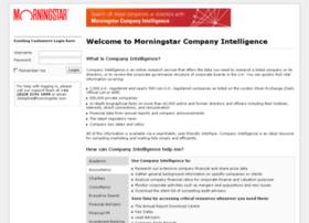 companyintelligence.morningstar.com