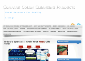 comparecoloncleansingproducts.com