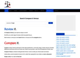 compareitversus.com