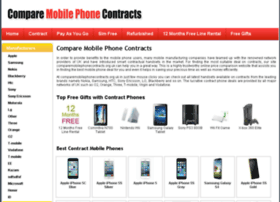 comparemobilephonecontracts.org.uk