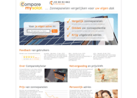 comparemysolar.be