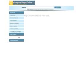 compareshopsonline.com