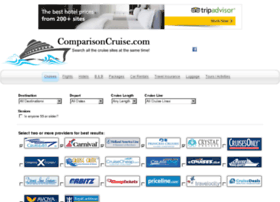 comparisoncruise.com