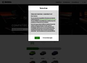 compatibilitylist.skoda-auto.com