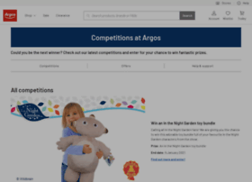 competitions.argos.co.uk