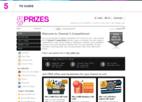 competitions.channel5.com