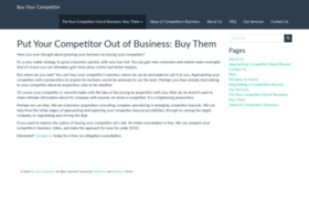 competitorbuyout.com