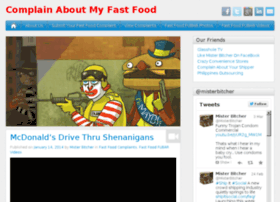 complainaboutmyfastfood.com