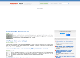 complaintboard.in