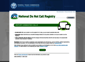 complaints.donotcall.gov