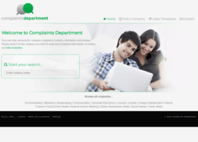 complaintsdepartment.co.uk