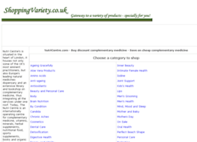 complementary-medicine.shoppingvariety.co.uk