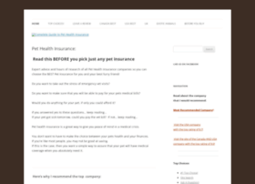 complete-guide-to-pet-health-insurance.com
