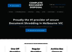 completedocumentdisposal.com.au