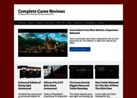 completegamereviews.wordpress.com